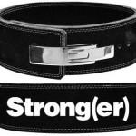 Black-lever-belt